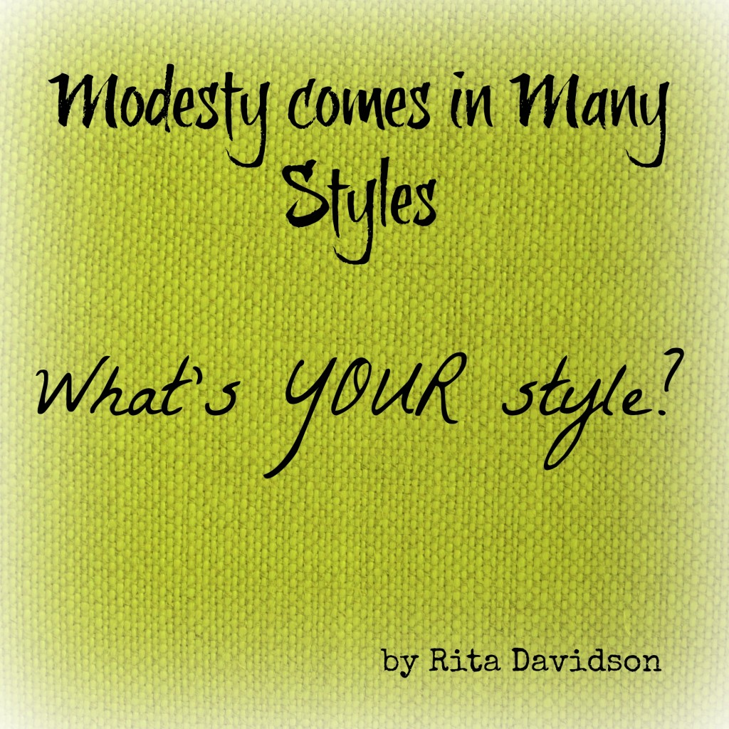 ModestyStyleBlog 1024x1024 Modesty comes in Many Styles  What's YOUR style?