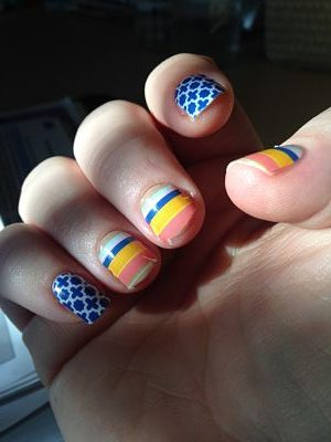 FUN nail wraps – Stay on for two weeks!