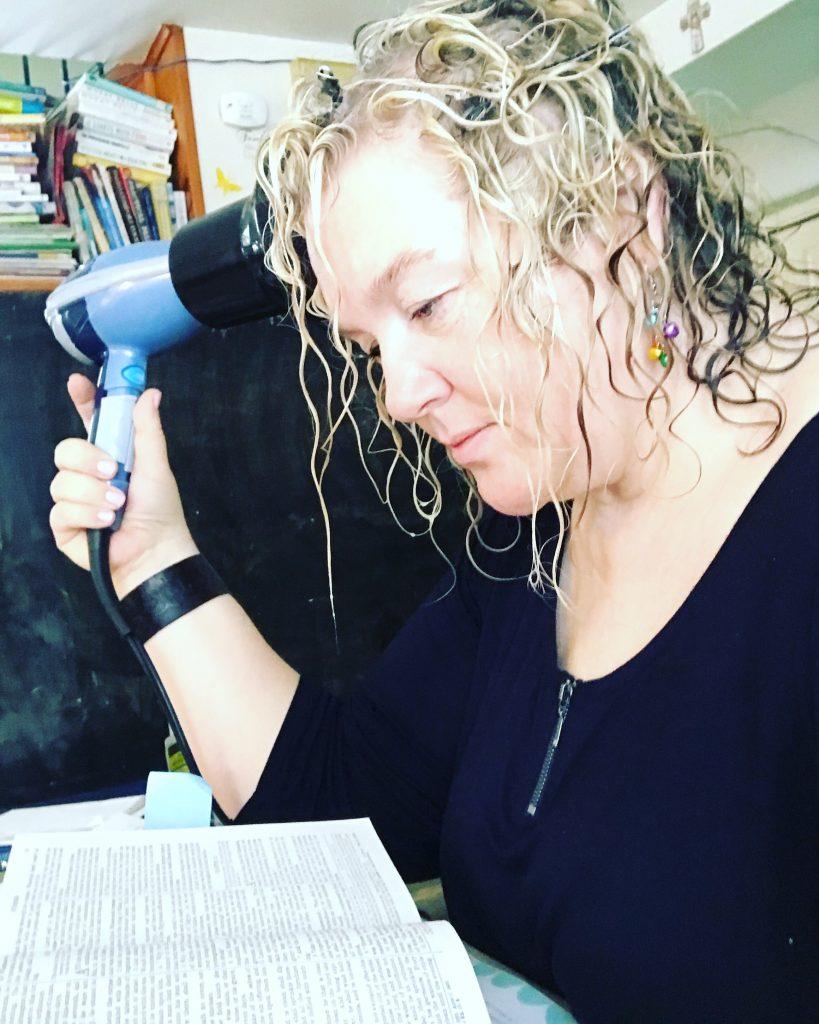Rita reading bible